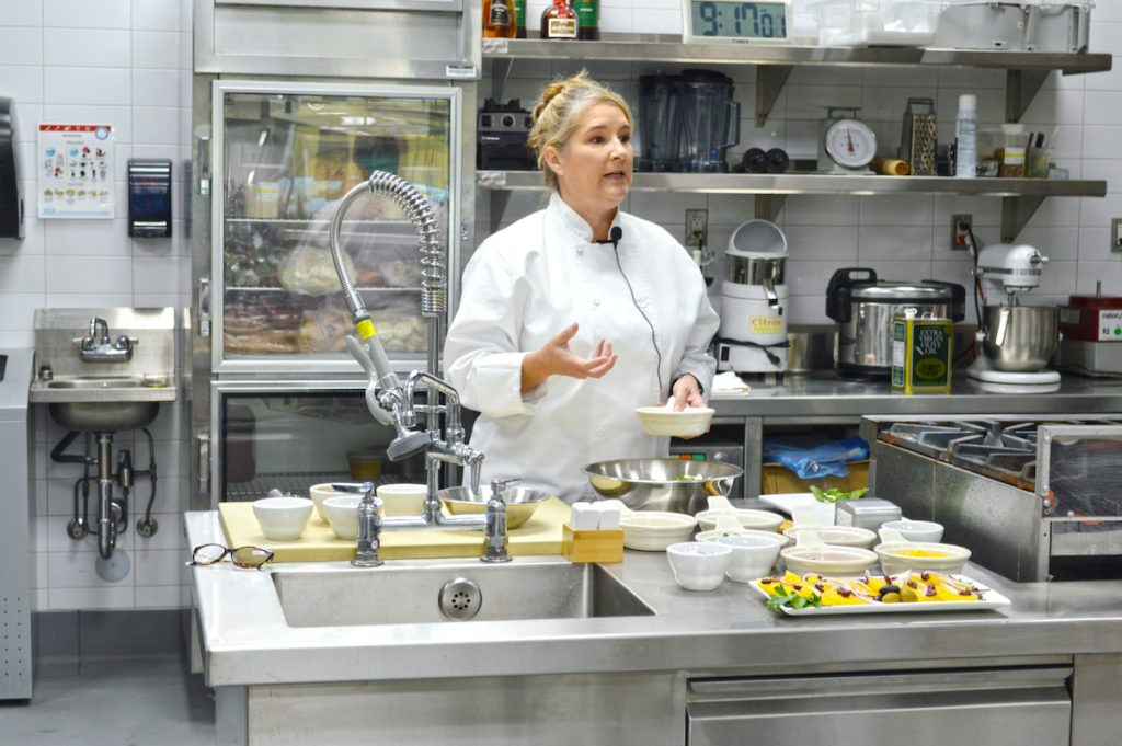 Chef Michelle Vietmeier, MSM, CFE, HBSC from Vegas Food Project