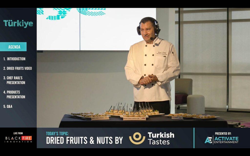 Chef Raul Villa_Vegas Food Project event